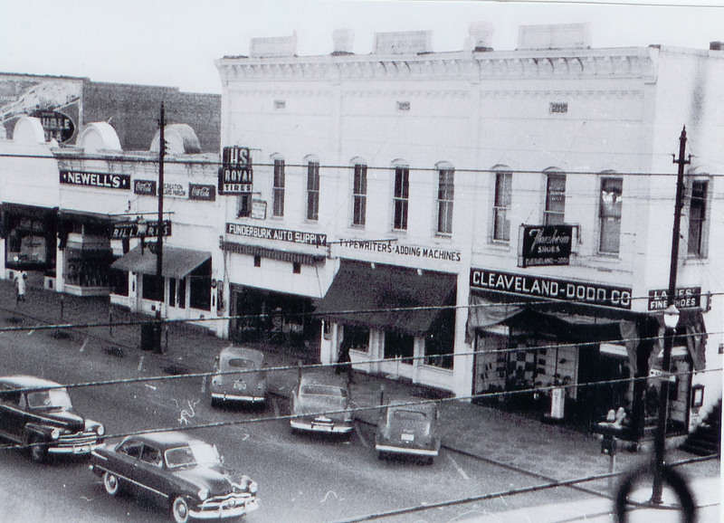 East Court Square, Lagrange, Georgia, ca 1940s