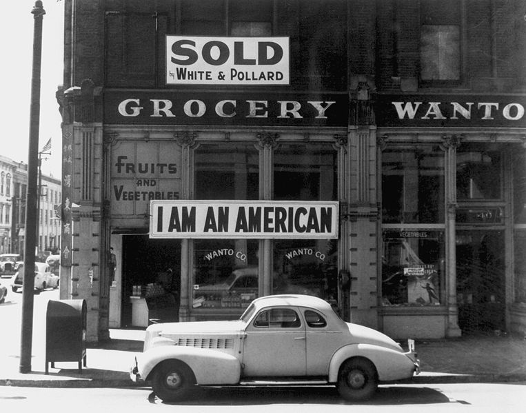 Japanese-American owned grocery store