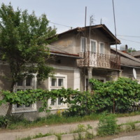 Tosia Schechter (Schneider)'s grandmother's house where she and her family lived while imprisoned inside the Horodenka Ghetto, 2010.